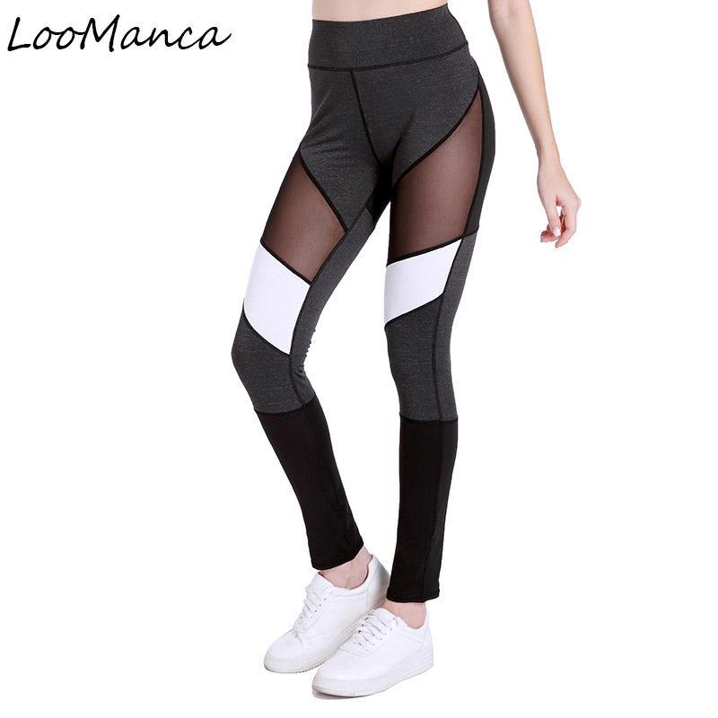 Novelty & Special Use Running Pants Women Sports Leggings Yoga Pants Fitness Tree Print Mesh Patchwork Gym Wear Leggings Sport Trousers Women Yoga