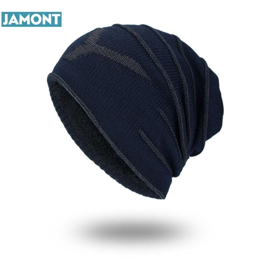 91e177b4731 JAMONT 2018 Brand New NY Winter Autumn Beanies Hat Unisex Warm Soft ...