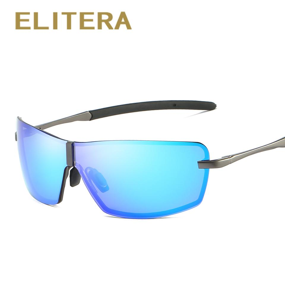 500ec0e9b83 ELITERA Fashion Men s Polarized Sunglasses Vintage Men Brand Designer  Shades Eyewear Accessories Driving Sports Sun Glasses Boots Sunglasses  Tifosi ...
