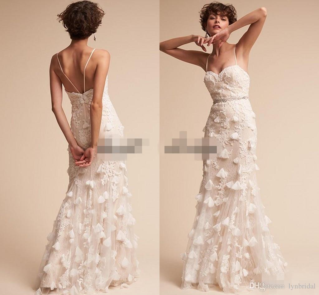 Vestidos noiva renda 3d lace floral bohemian wedding dresses 2018 ver imagem maior junglespirit Gallery