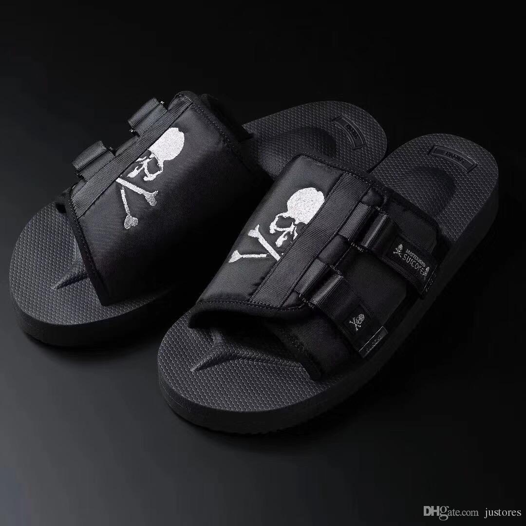 2d814c093e 2018SS Mastermind JAPAN X Suicoke MOTO VS MMJ Gladiator Sandals Fashion Men  And Women Summer Slippers Beach Outdoor Shoes Sandals For Girls Chaco  Sandals ...