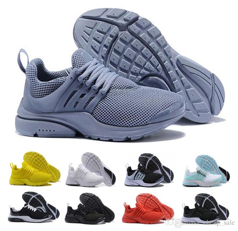 new york 2a2b1 59c0d Acquista Nike Air Presto Di Lusso PRESTO 5 BR QS Uomo Donna Grigio Giallo  Rosso Blu Bianco Nero Sneakers Fashion Designer Uomo Sport Walking Scarpe  Da ...