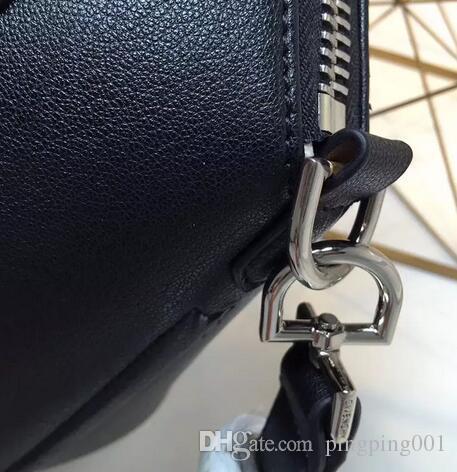 2018 mujeres Bolsos de bolsos de Cuero Genuino bolso de trapecio de marca famosa totalizador de moda bolsos de hombro de cuero real de alta calidad femenino Clutc