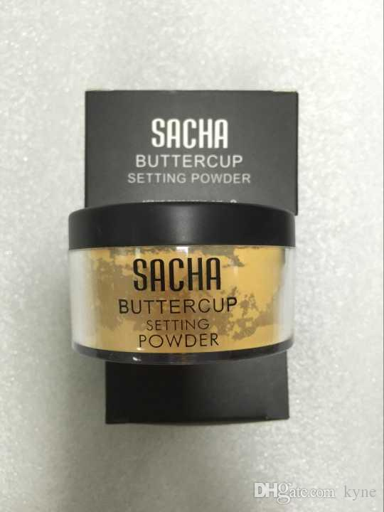 2019 with retail box Sacha Buttercup setting powder makeup SACHA loose powder DHL free shipping