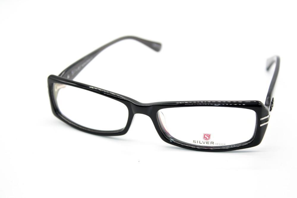 2018 Genuine Hand Made Glasses Sil Design Black Glasses Frame Custom ...