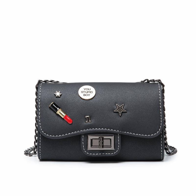 bf72757c658 Byoung Small Women Bags PU Leather Messenger Bag Clutch Bags ...