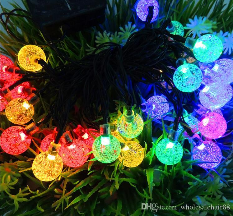 20 leds string light aa battery operated christmas garland light fairy xmas wedding festival home decoration hollow pendant led patio string lights globe - Battery Operated Christmas Garland