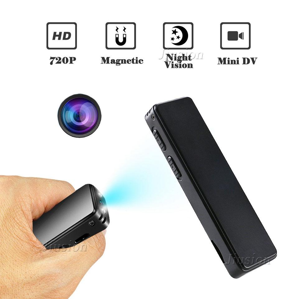 2018Latest Magnetic Mini Camera 720P HD Pen Camcorder Infrared Night Vision Digital Video Audio Recorder Secret Action Micro Cam