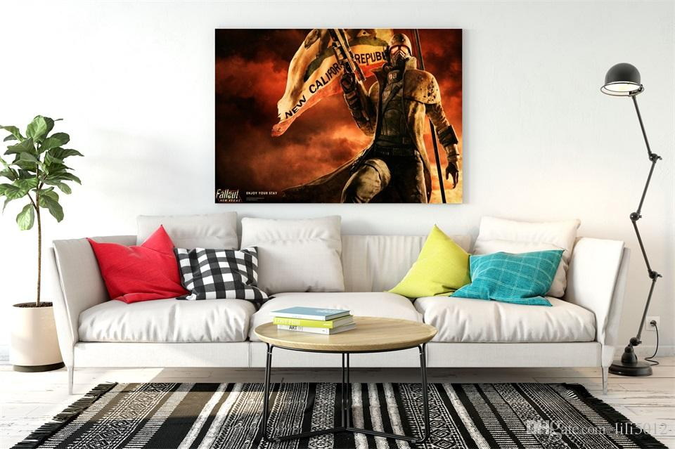 2018 2018 New Sale Fallout Canvas Painting Game By Home Decoration ...
