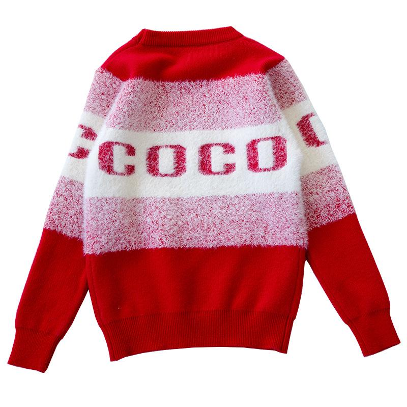 Teenage Girls Sweaters Clothing 2018 Toddler Infant Baby Girl Letter