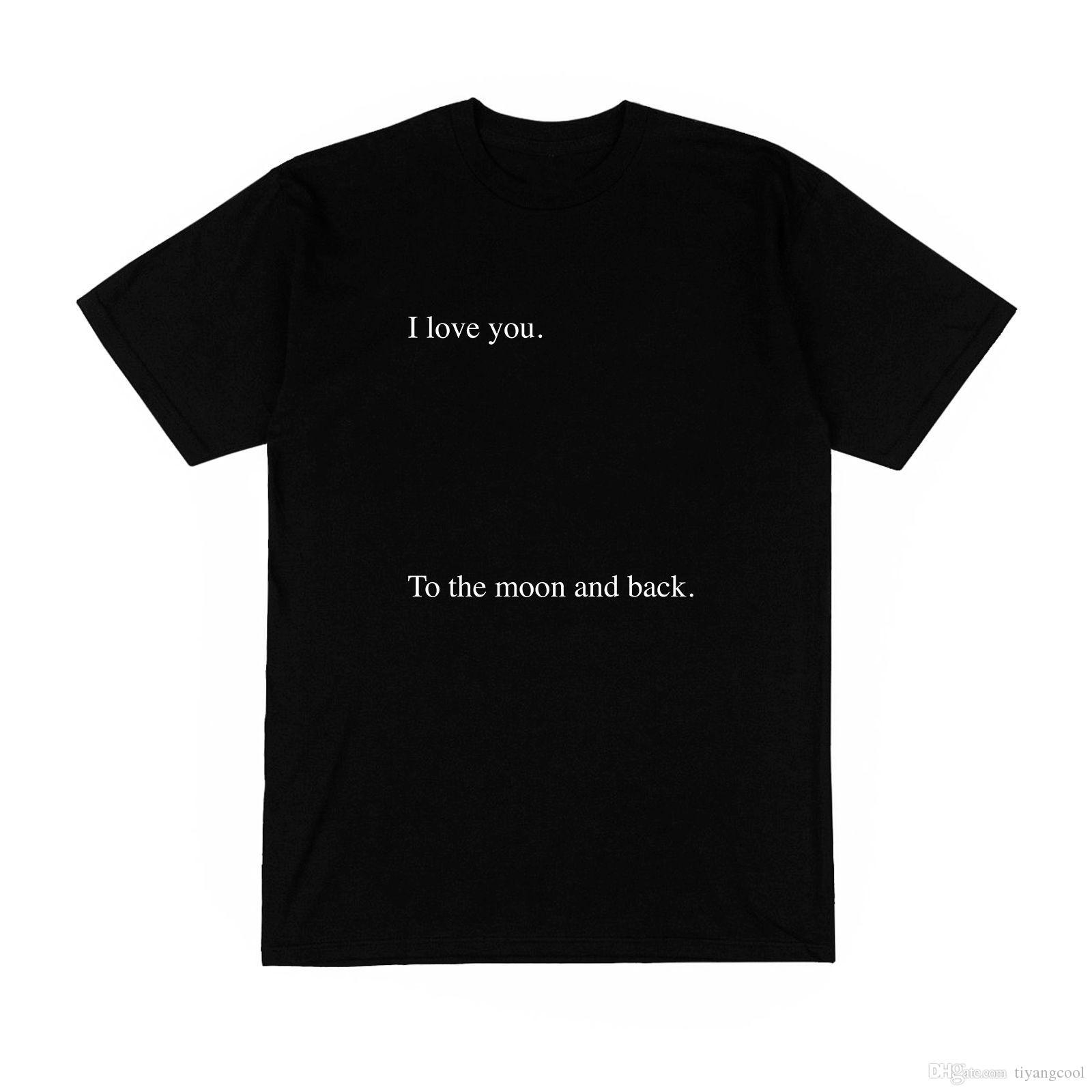 Camiseta Homme Monsieur Te Quiero Je Taime Pareja Amour émotion Frase Modo