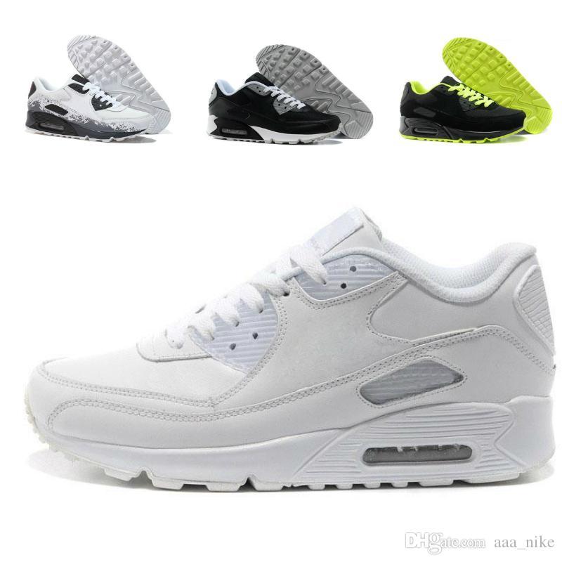 Nike Air Max 87 Descuento grande Venta caliente Hombres Zapatillas Zapatos Clásicos 90 Hombres Zapatillas Venta al por mayor Envío de la gota