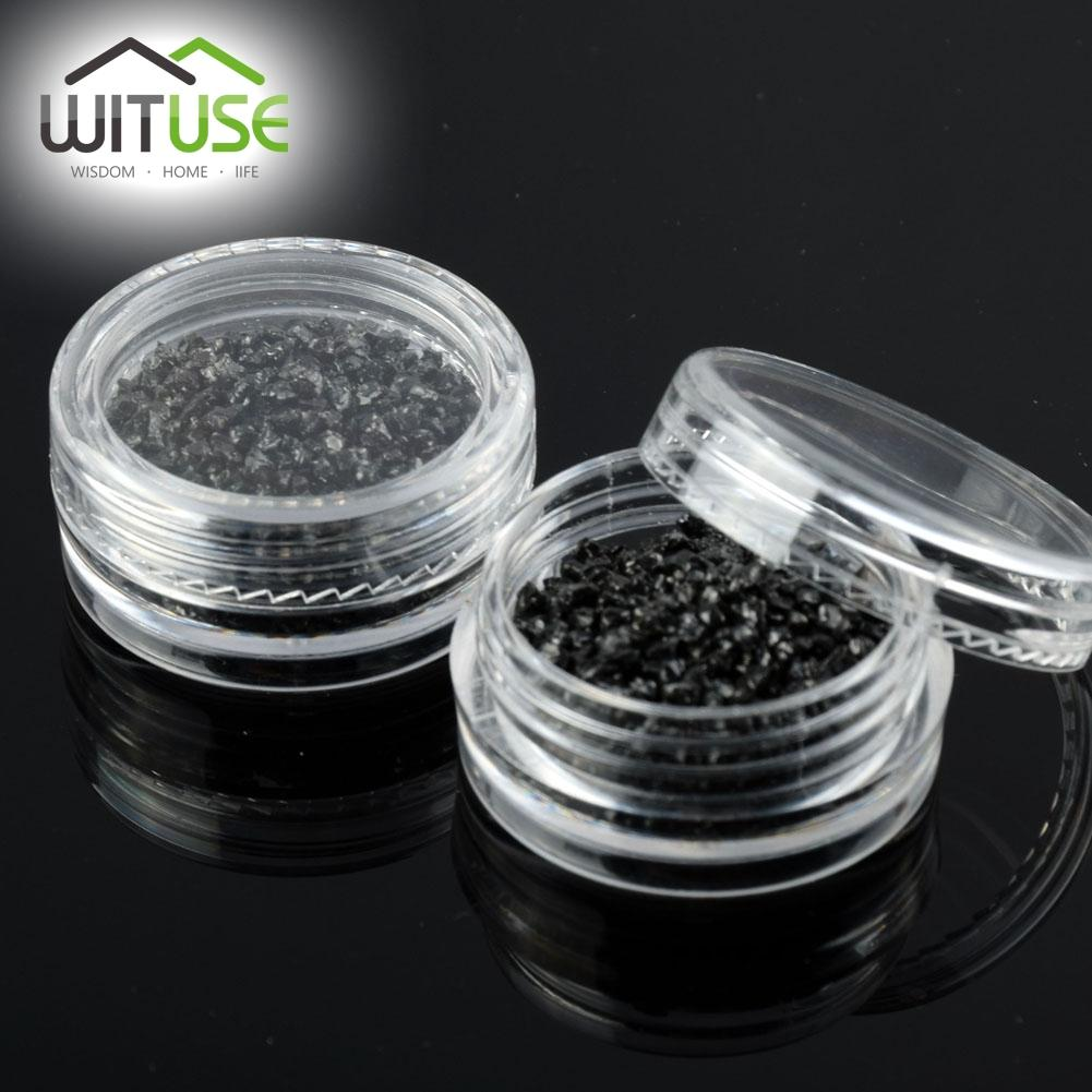 SALE 50pcs/lot 2g Empty Bottles Cosmetic Containers Jar Pot Box Small Plastic Jars With Lid Sample Mini Cream Cosmetic Packaging