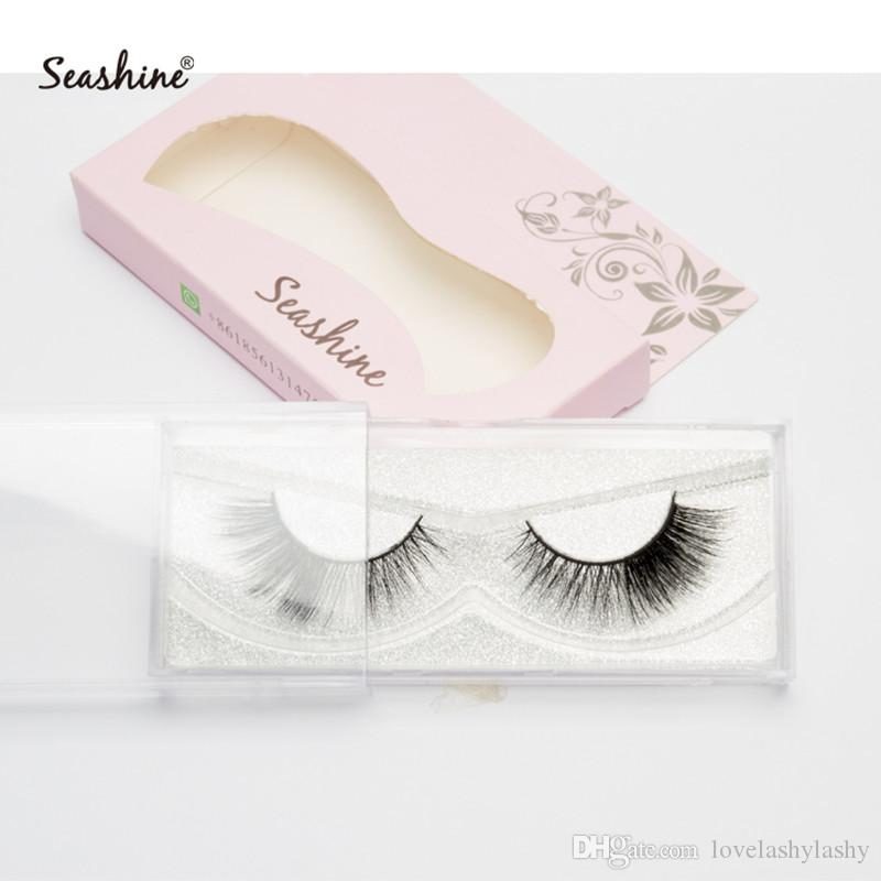 85c48aa656a Seashine High Quality Wholesale Cheap 3D Real Mink Fur Fake Eyelashes 100%  Velvet Private Label Mini 100% 3D Mink Fur Made False Eyelashes Eyebrow ...