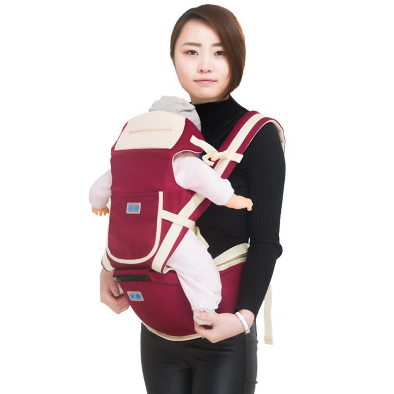 Luxury 9 In 1 Baby Carrier Ergonomic Carrier Backpack Hipseat For Newborn And Prevent O Type Legs Sling Baby Kangaroos Chicco