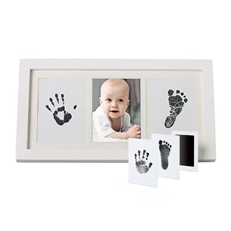 Toys & Hobbies United Special Newborn Baby Handprint Footprint Photo Frame Kit Non-toxic Clean Touch Ink Pad Baby Items Souvenir Modeling Clay