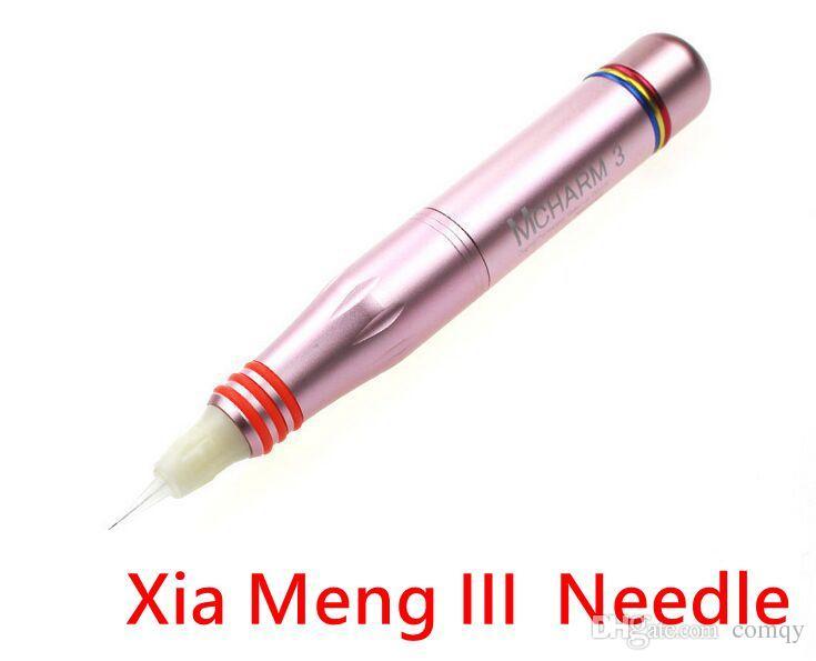 Nova Xia Meng III Agulha Doce para CHARMANT II Microneedle Agulhas de Maquiagem Permanente para Cuidados Com A Pele Anti-envelhecimento Agulha de Tatuagem
