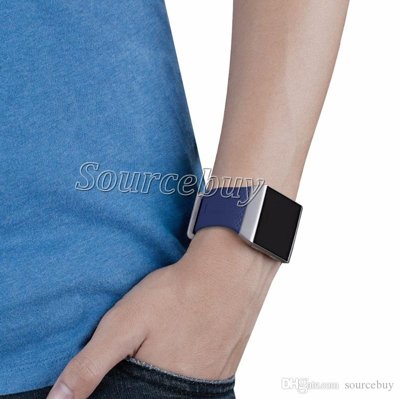New Smart Replacement Sports Silicone Watch Bracelet Strap Band For Fitbit Ionic Good Quality TPU Comfortable Watch Band Sport Smart Straps