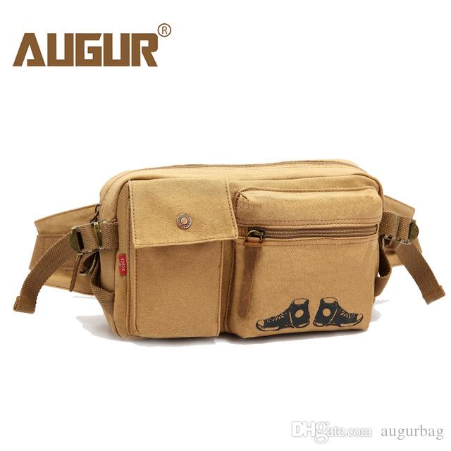 b1c5613f7f AUGUR Fashion Chest Bags For Men Canvas Travel Messenger Bags Male Chest  Pack Durable Big Shoulder Crossbody Bag Multifunction Hobo Purses Ladies  Purses ...