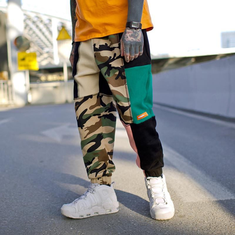 0d94c1cf245f9 2019 Fashion Mens HipHop Jogger Splice Camouflage SweatPants US Size S XL  From Bearlittle, $47.7 | DHgate.Com