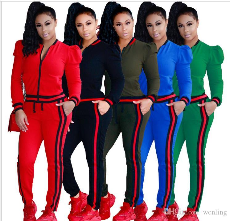 b2037f7f8 New Women's Suits Fashion Set Tracksuit For Women Pant And ...