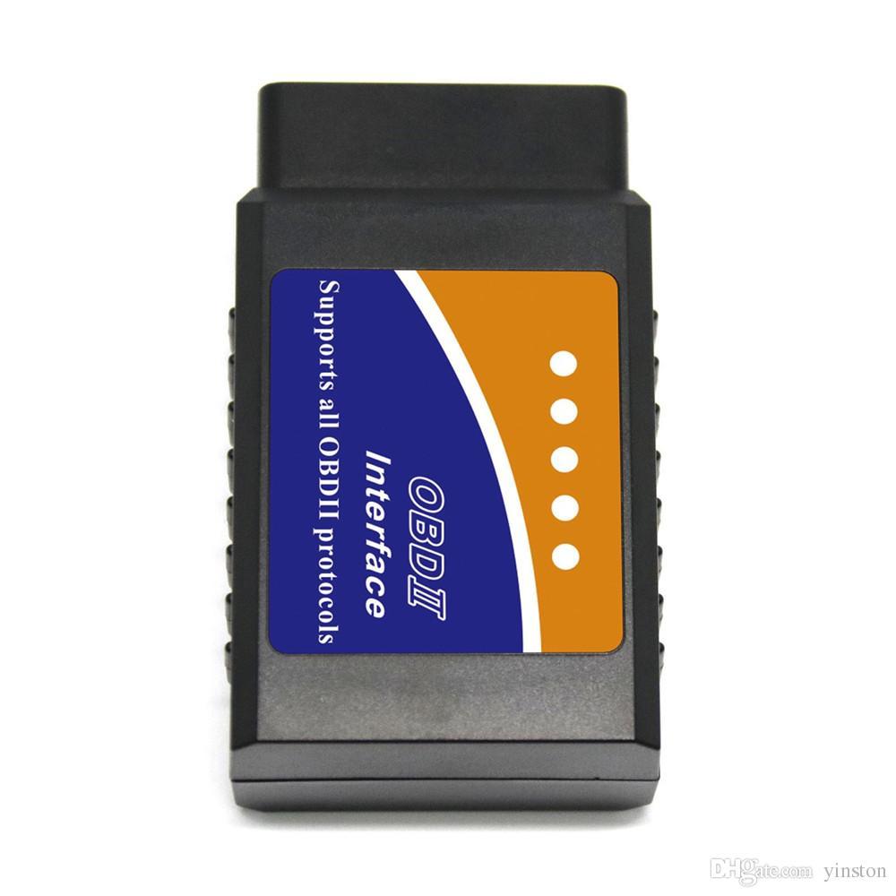ELM 327 V1.5-Schnittstelle funktioniert auf Android-Drehmoment CAN-BUS Elm327 Bluetooth OBD2 / OBD II Auto-Diagnosescanner-Werkzeug