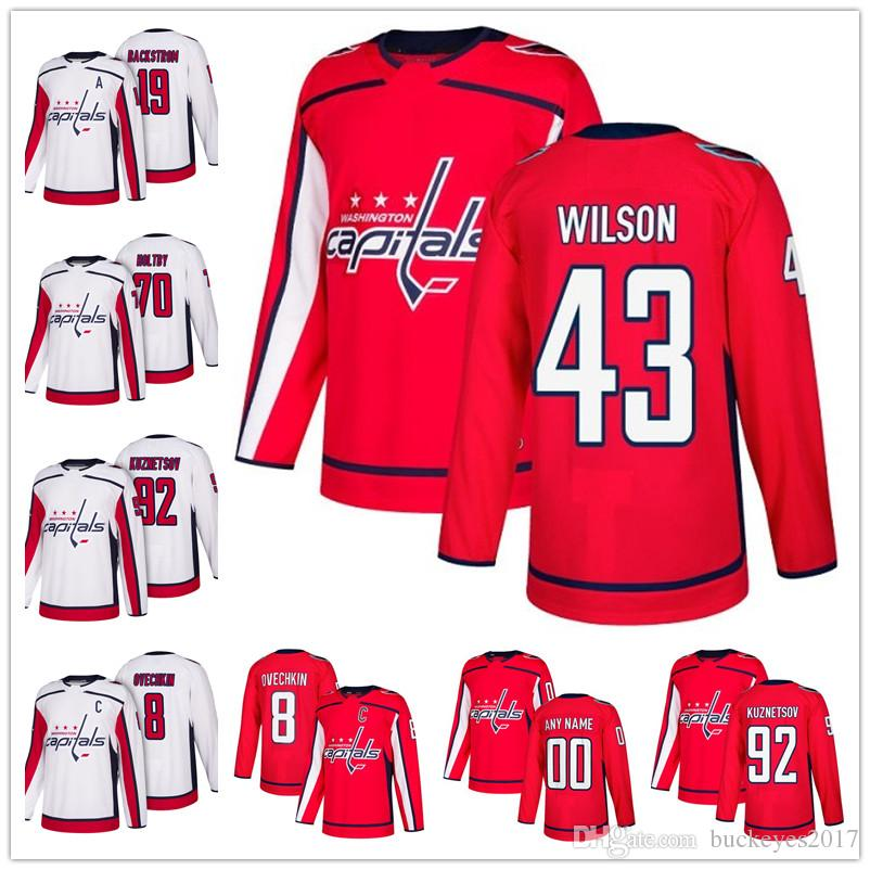 9cee240a05d 2019 Hot Sale Washington Capitals 2018 Red Home 43 Tom Wilson 79 Nathan  Walker 83 Jay Beagle 91 Tyler Graovac Cheap Ice Hockey Jerseys From  Buckeyes2017