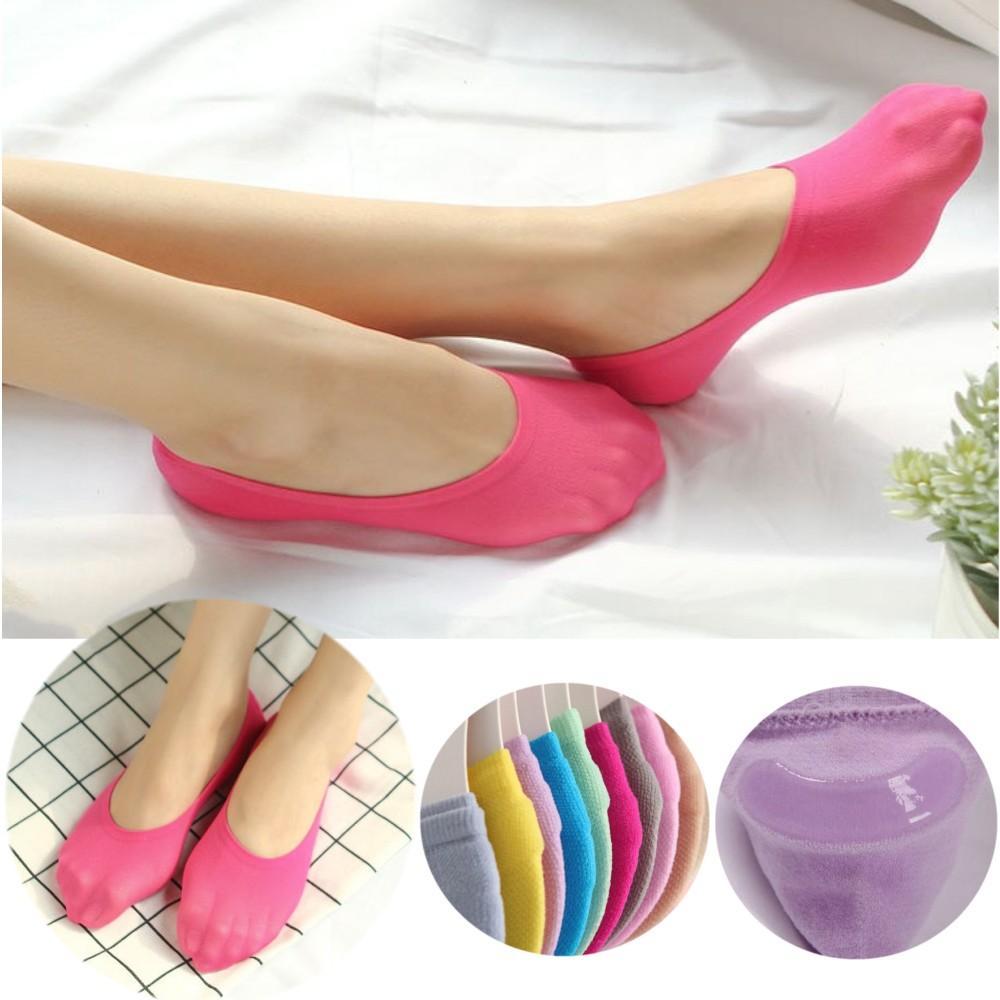 8261d371ed2 Ultra thin invisible womens sock girls slipper socks non slip no show socks  summer first choice