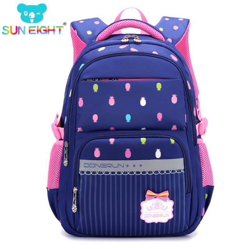 d20d67ca2a Beautiful Pineapple Printing Waterproof School Backpack For Girls School Bag  For Teenager Bags For Girl Big Capacity Y18100704 External Frame Backpacks  ...