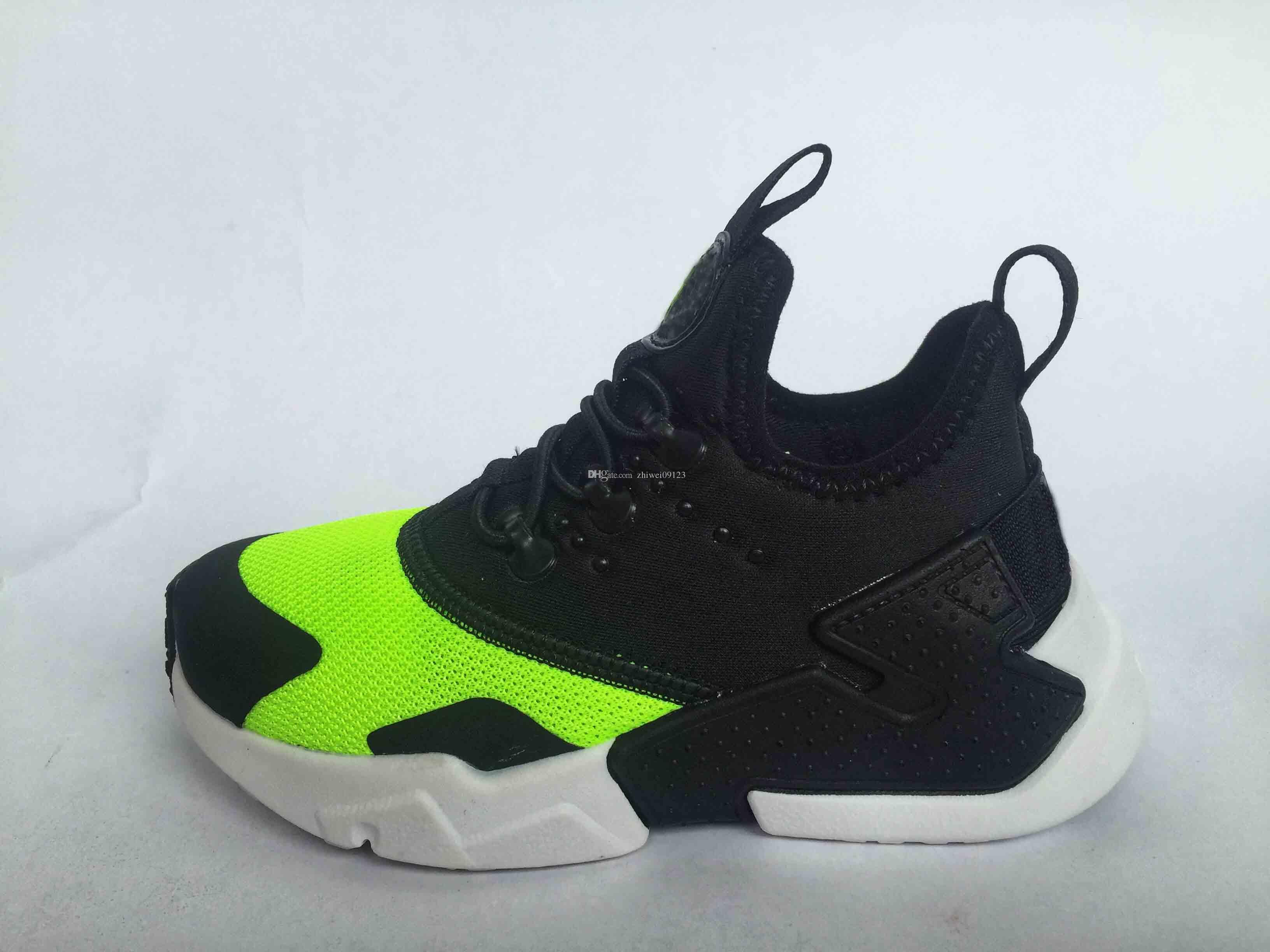b771c70afe72 Lovely Air Huarache Ultra Running Shoes Big Kids Boys And Girls Black White Air  Huaraches Huraches Sports Sneakers Athletic Trainers Shoes Childrens  Walking ...