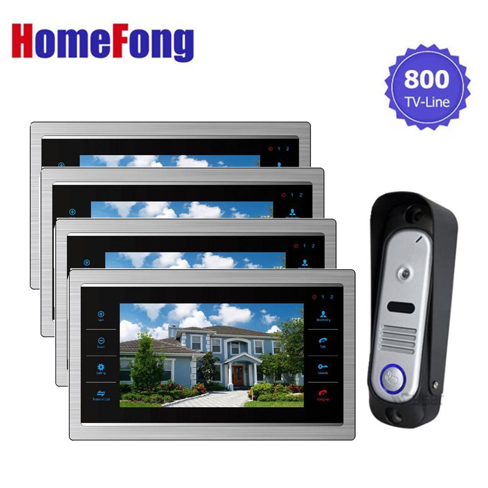 großhandel homefong video türklingel kamera intercom monitor 7 zoll