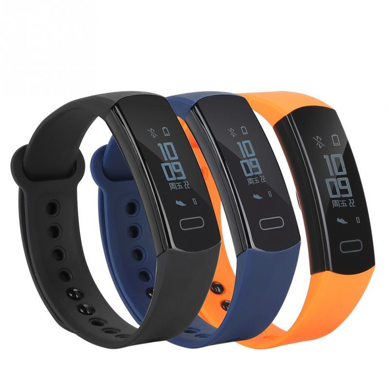 Wasserdicht Schrittzähler Bluetooth Laufende Sport Fitness Armband Schlaf Monitor Intelligente Oled Touchpad Herz Rate Fitnessgeräte