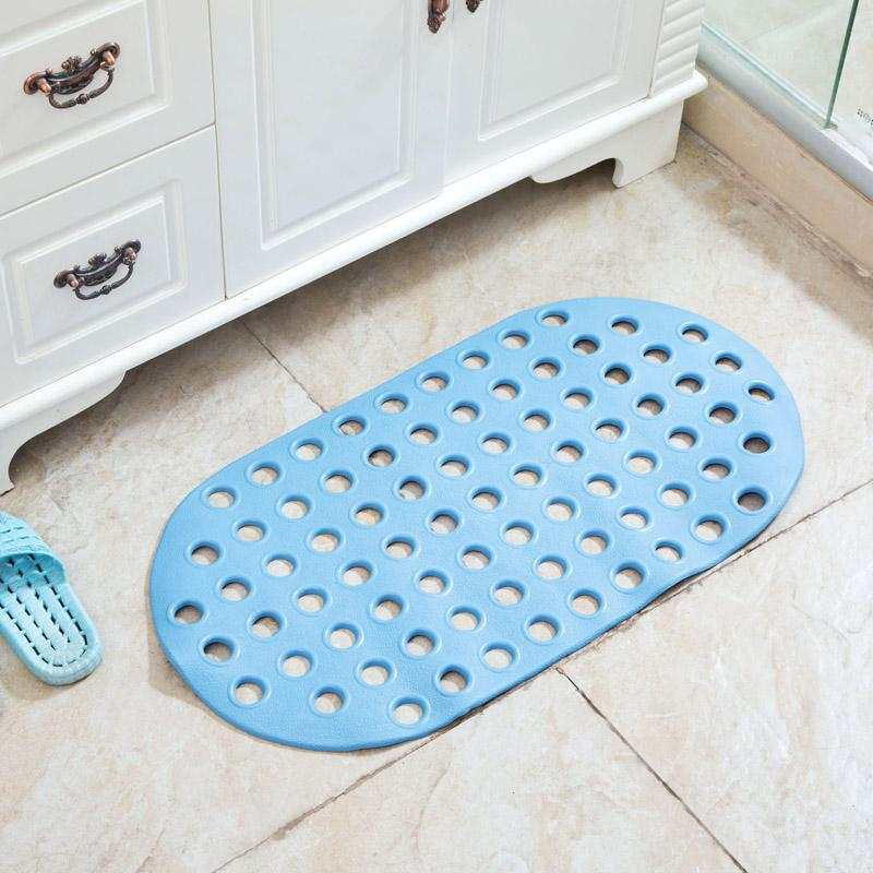 2018 Bath Mats Waterproof Floor Mats Bathroom Floor Anti Skid Fixed