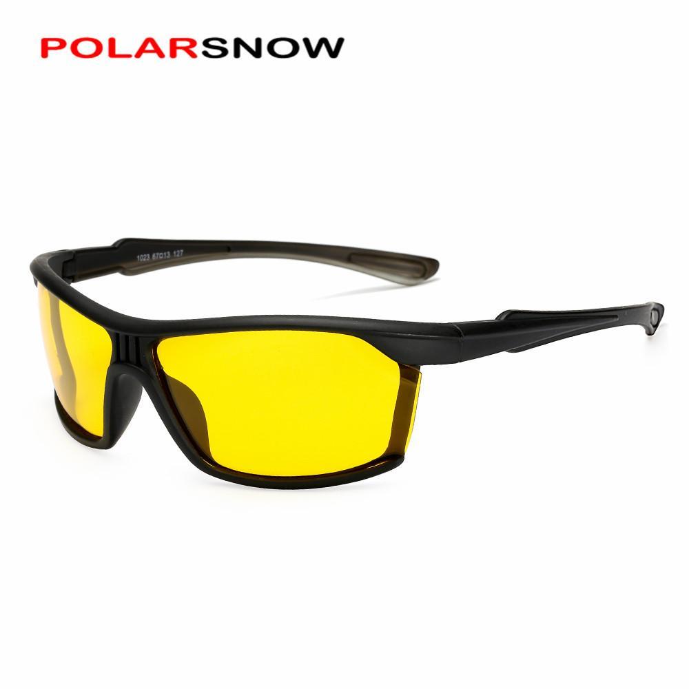326eacb934c9 Großhandel Polarsnow Quadratische Polarisierte Sonnenbrille Männer Sport Stil  Sonnenbrille Tac Schutzbrille Polaroid Brillen Brillen Gafas De Sol Von ...