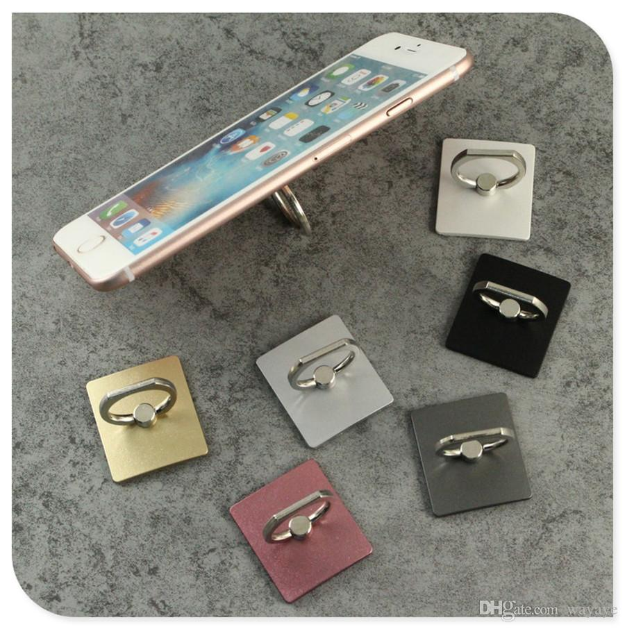 Cell Phone Back Holder Metal Stand Universal Phone Ring Mount Cheap Price without Retail Package