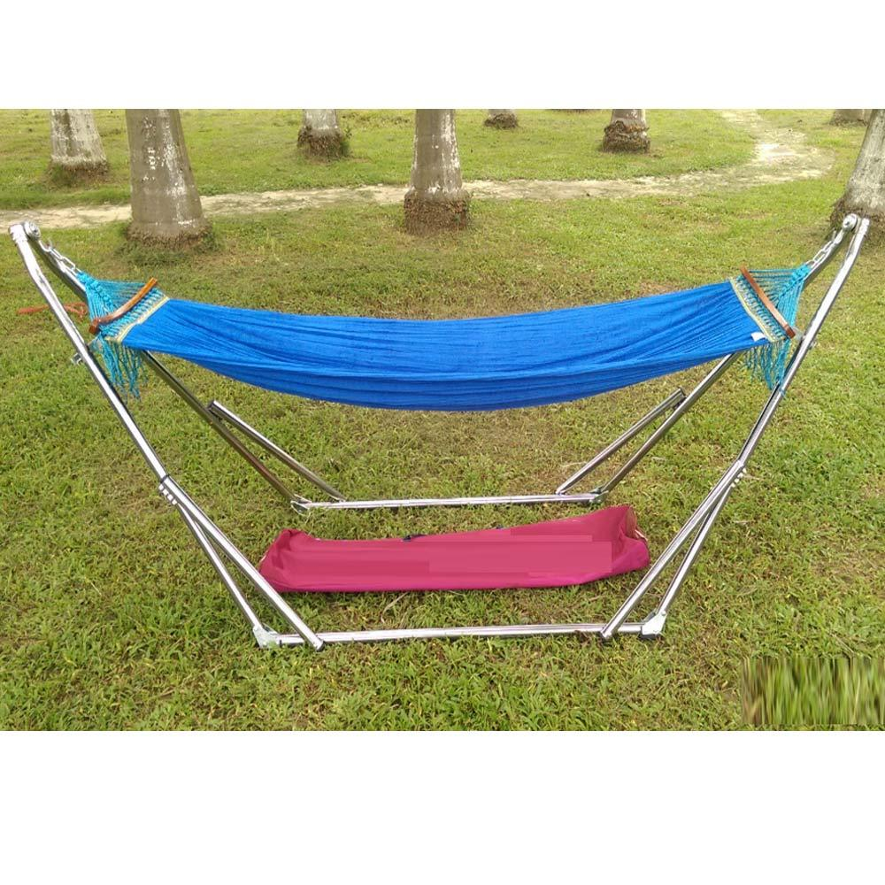 for hanging hammock travel single hiking foldable product green portable net t bed camping mosquito person outdoor kits