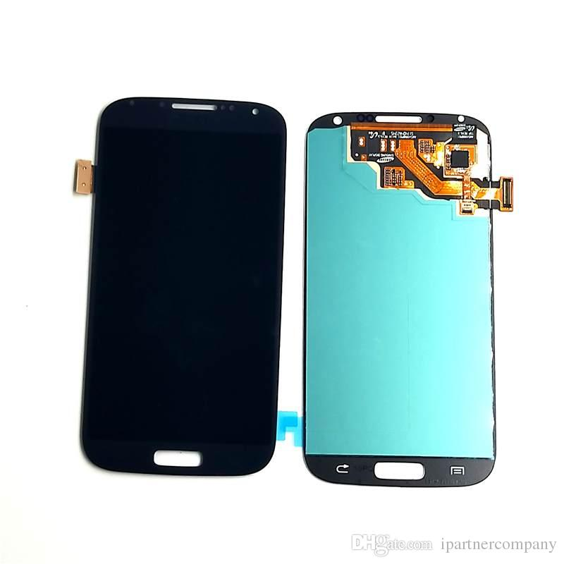 For samsung LCD Display Touch Screen Digitizer with frame - For Samsung GALAXY S4 LCD i9508 i9508v i9500 i9502 i559 10pcs /lot with tools