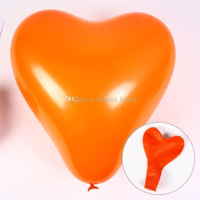 Palloncini a forma di cuore palloncini di lattice di nozze favori decorazione palloncino di alta qualità 12 pollici multi colori spedizione gratuita