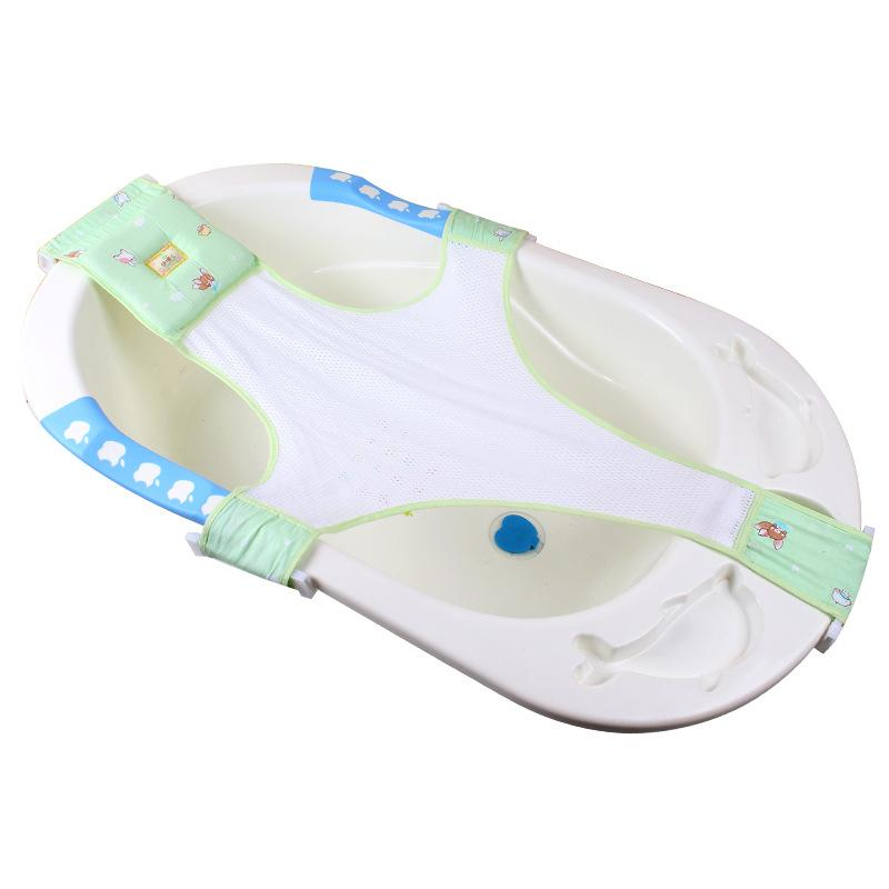 Newborn Baby Bath Tub Seat Baby Shower Net Bathing Cartoon Infant ...