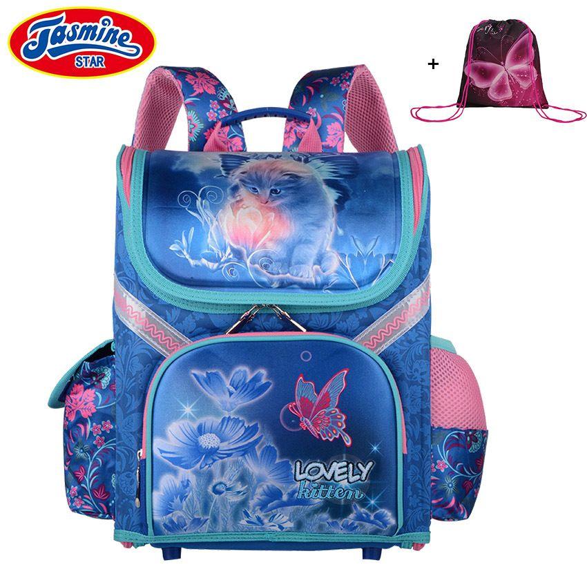 69b56053f832 JASMINESTAR Children S Backpack Grade 1 3 6 New Boys School Bags Orthopedic  Satchel Cartoon School Backpack For Girls Schoolbag Y18110107 Cheap Rolling  ...