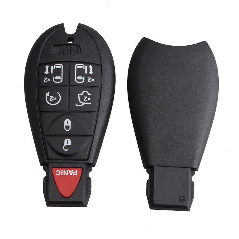 433Hz 7 botones de repuesto alejado de la llave del coche Fob Transmisor de alarma de Clicker para Dodge M3N5WY783X IYZ-C01C CIA_41H