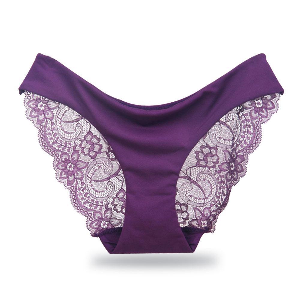 Thin Sexy Lace Panties Cotton Women Briefs Underwear