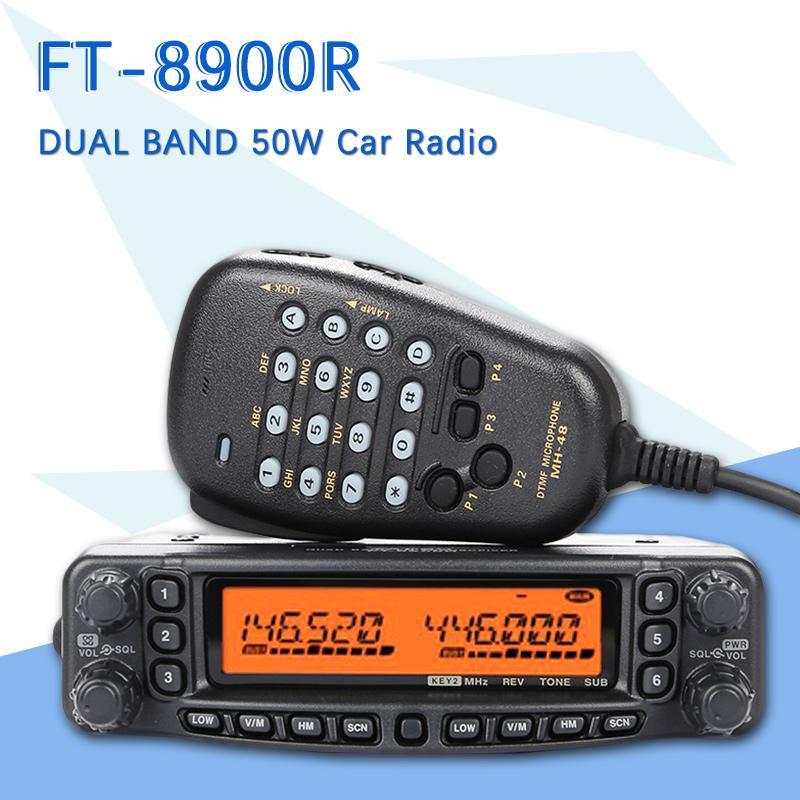 052d43a01 YAESU FT 8900R FT 8900R Professional Mobile Car Two Way Radio   Car  Transceiver Walkie Talkie Interphone Best 2 Way Radios Bluetooth Walkie  Talkie From ...