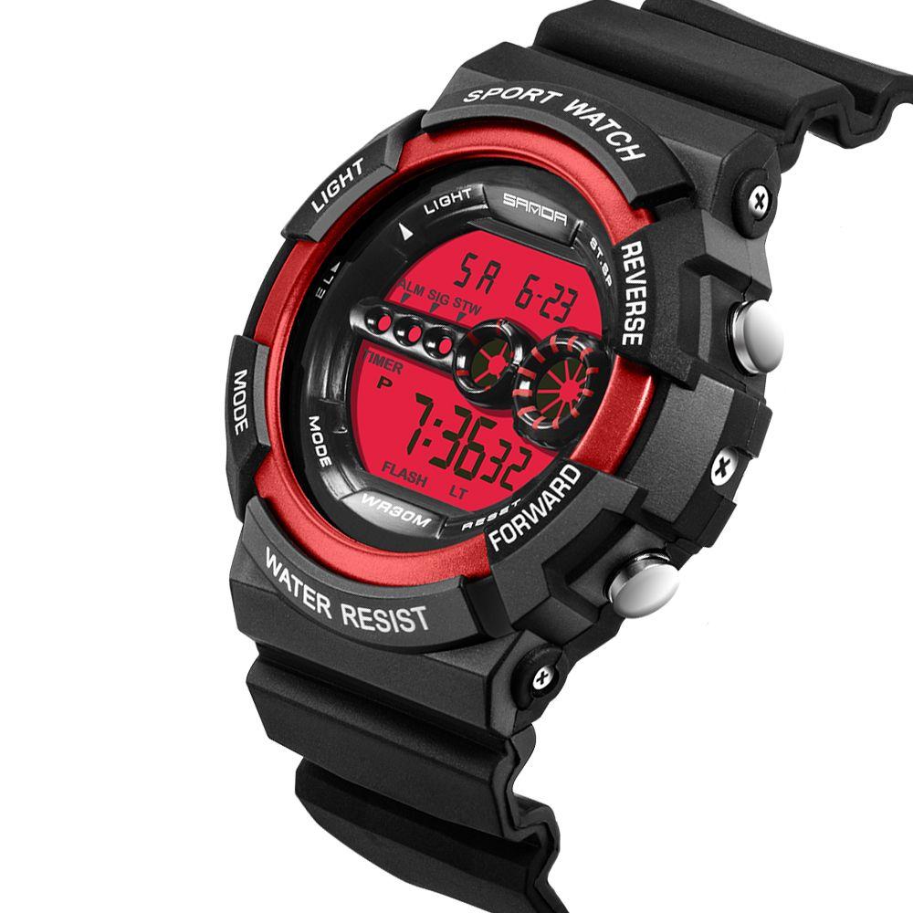 16e92f9bb60 Compre SANDA Novo Estilo G Relógio Digital S Homens Relógio Do Exército  Resistente À Água Calendário LED Sports Relógios Relogio Masculino De  Greenparty