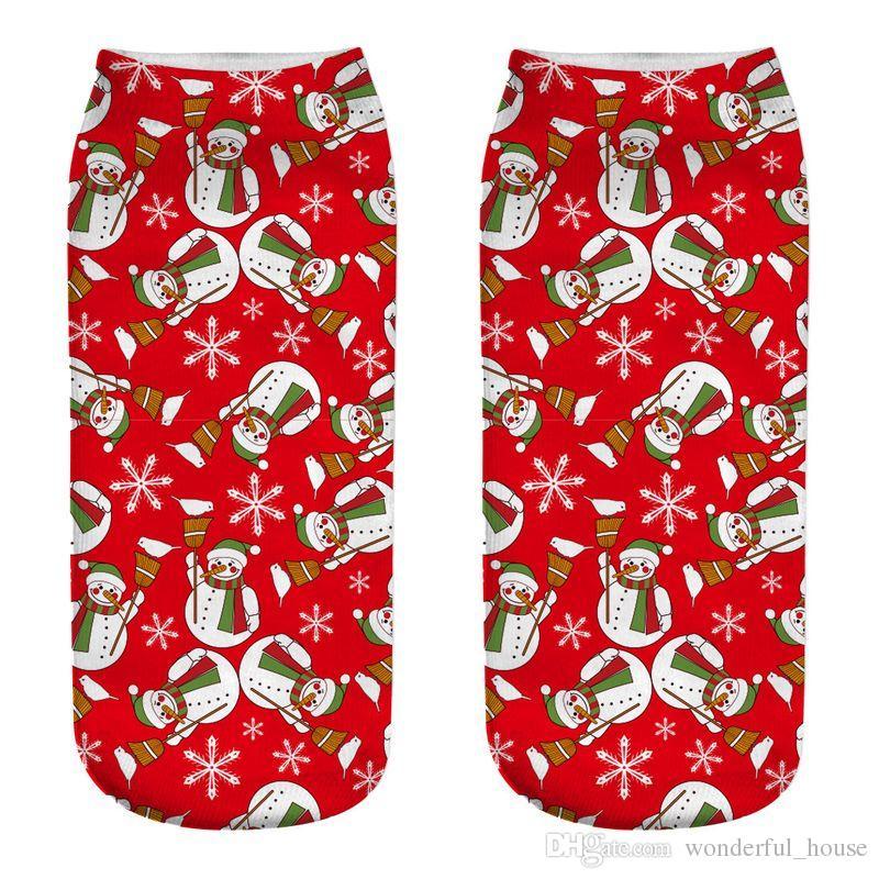 Großhandel Weihnachtssocken Santa Sock Elk Socken 16 Designs Kinder ...
