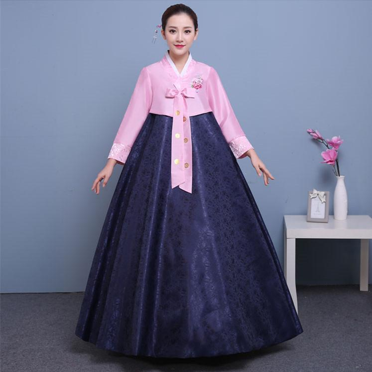 4feef1f57 2019 Korean Traditional Dress Hanbok Korean National Costume Asian Clothing  Costumes Women Ceremonial Clothing From Hiem, $73.54 | DHgate.Com