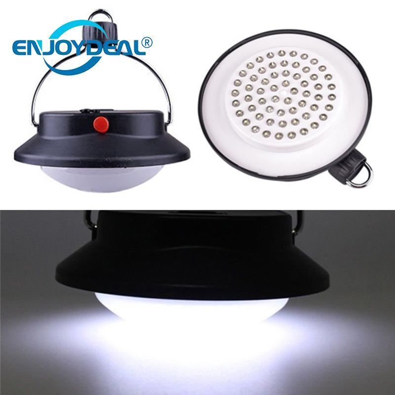 Hot Selling Portable 60 LED Camping Lamp Tents Light Umbrella Hanging Night  Lamp Lantern For Outdoor Hiking
