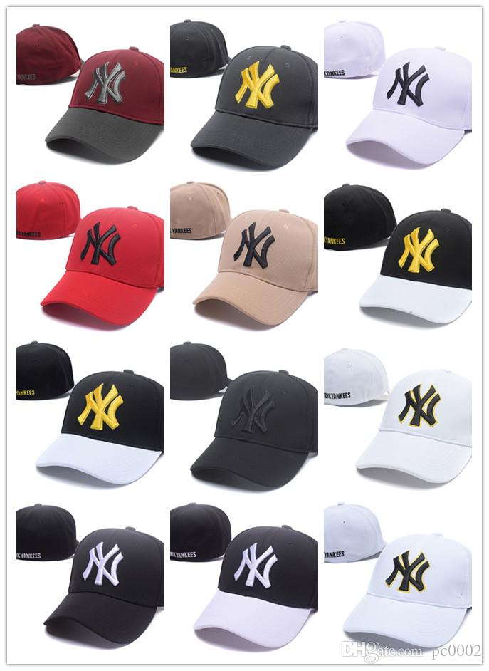 TOP Wholesale Online Shopping NY Fitted Fashion Hat W Letters Snapback Cap  Men Women Basketball Hip Pop Online with  14.21 Piece on Yaolipeng2 s Store  ... 4c6024f9553