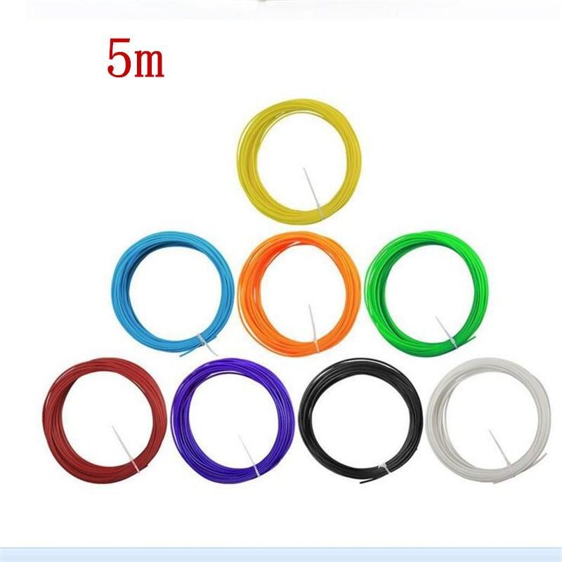i 3D filamento stampante ABS / PLA 1.75mm 5M materiali di consumo di plastica in gomma penna 3d