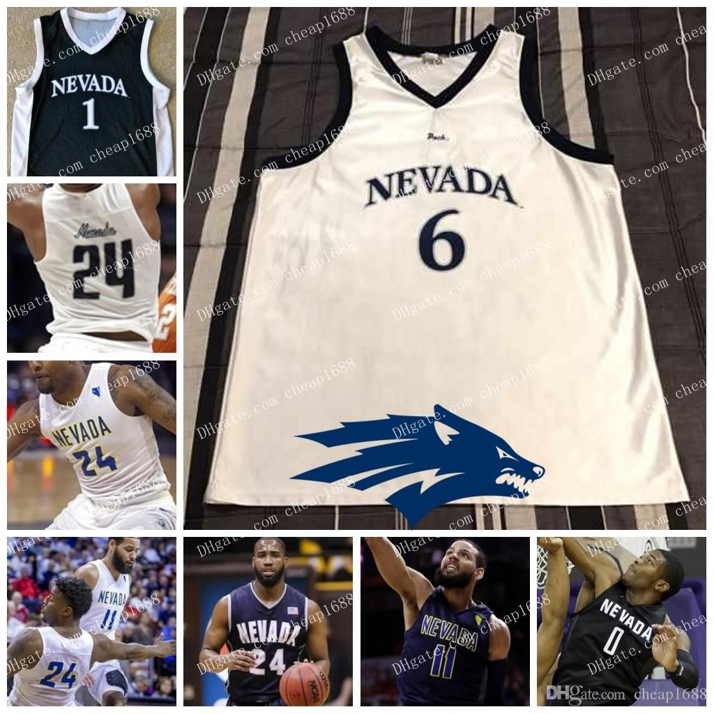 separation shoes 8c392 10e47 Custom Nevada Wolf Pack College Basketball personalized Stitched Any Name  Number white black men women youth NCAA Jerseys